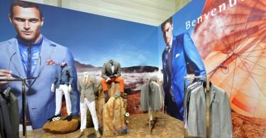 Стильная коллекция мужской одежды от BENVENUTO на выставке PANORAMA Berlin 2013 Summer