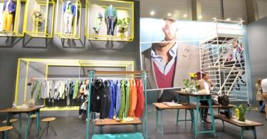 Новая яркая коллекция повседневной одежды для мужчин фирмы ROY ROBSON в Берлине