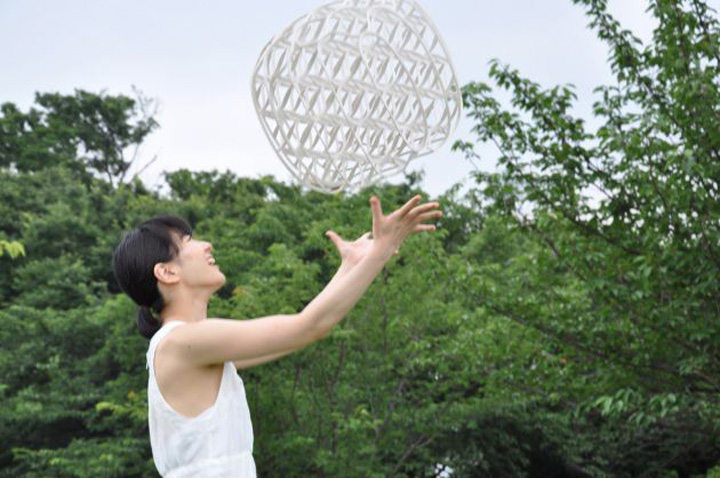 Замечательный плетенный табурет Hechima 5 от Ryuji Nakamura