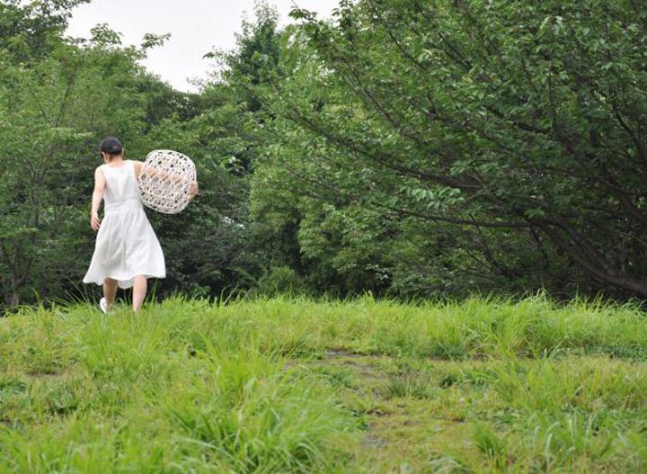 Удивительный плетенный табурет Hechima 5 от Ryuji Nakamura