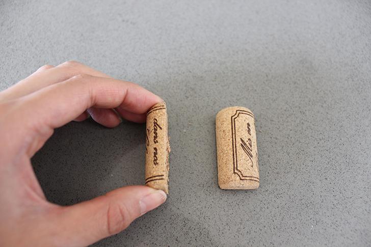 Дивный держатель для визиток из винных пробок своими руками
