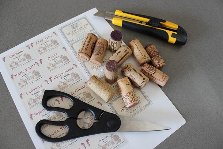 Креативный держатель для визиток из винных пробок своими руками