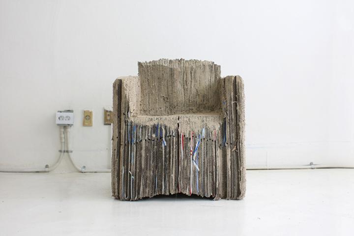 Кресло Reborn Cardboard от Monocomplex