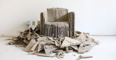 Ошеломительное кресло Reborn Cardboard от Monocomplex