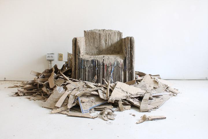 Картон для изготовления кресла Reborn Cardboard от Monocomplex