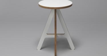 Удобный и практичный стул The A от дизайнера Alexander Swain
