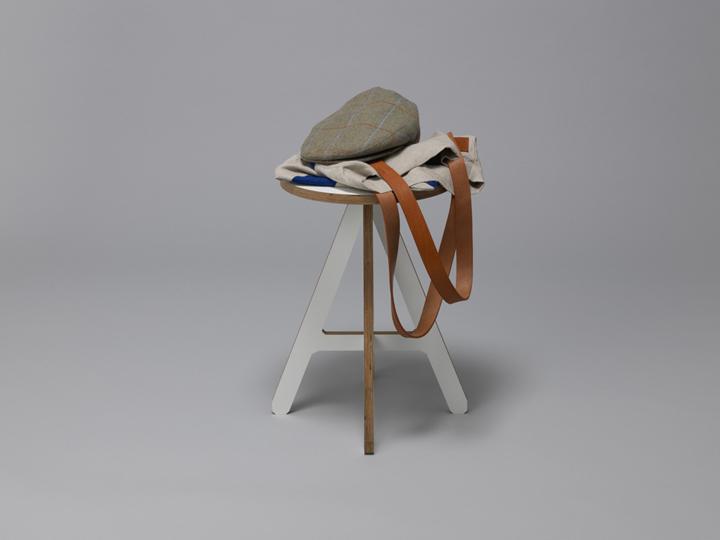 Одежда на стуле The A от Alexander Swain