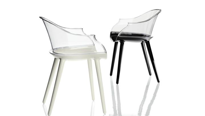 Чудесные прозрачные стулья Cyborg от Марсель Вандерс