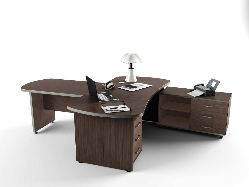 Принтер на рабочем столе в офисе