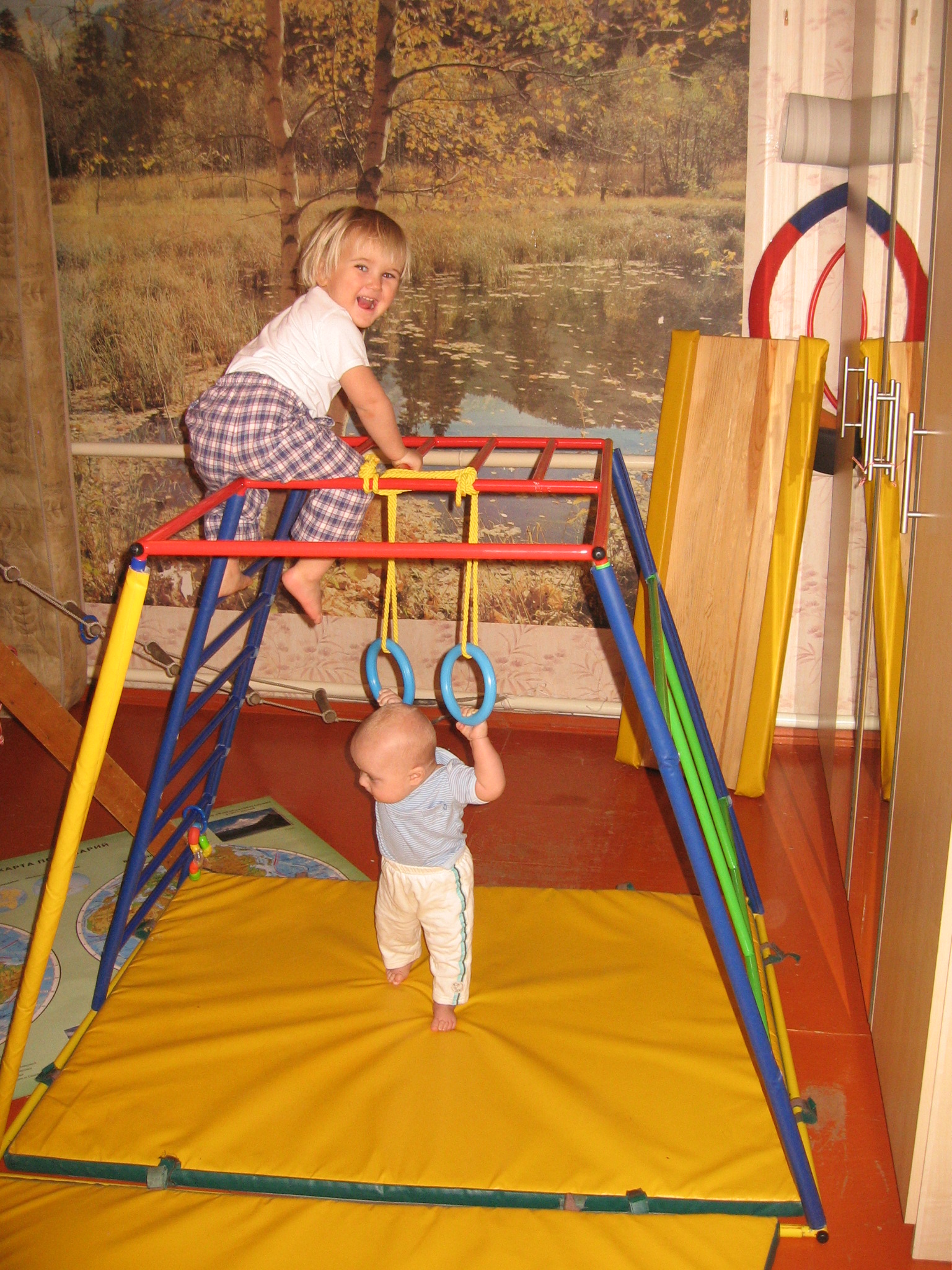 Уникальный детский спортивный комплекс Ранний старт