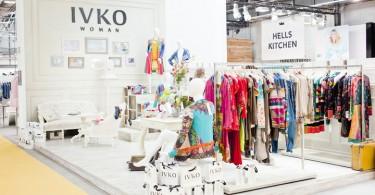 Красочные модели одежды IVKO на выставке PREMIUM 2013