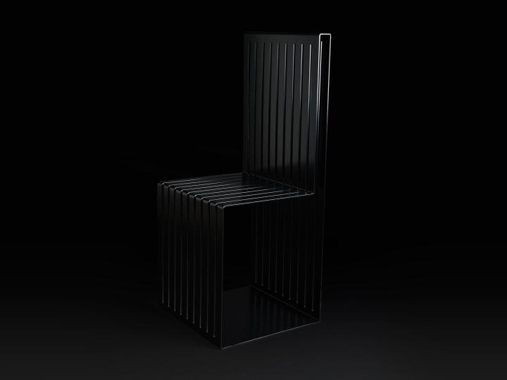 Высокая спинка стула