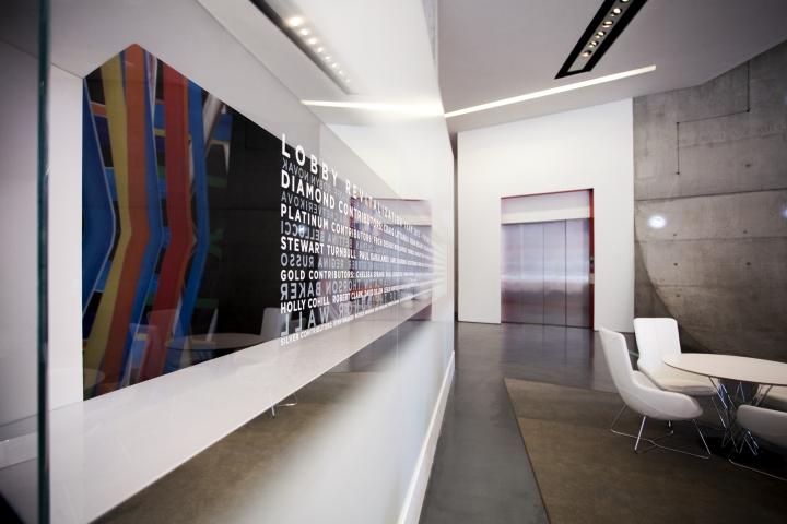 Яркий дизайн Центра современного искусства