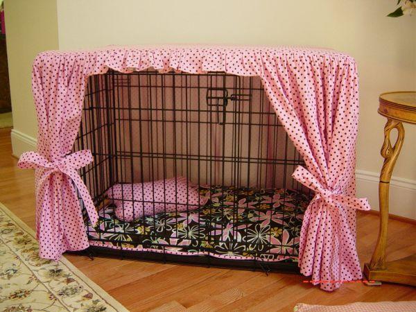 Клетка для домашнего питомца с шторкой