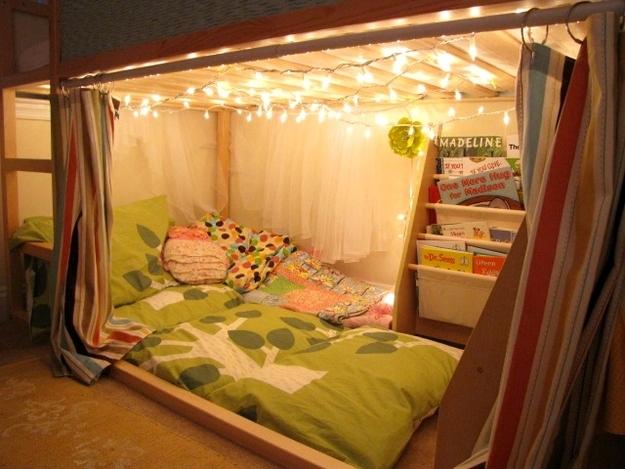 Место для отдыха и чтения книг