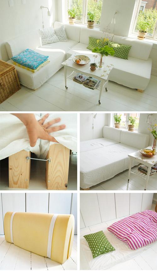 Модульная мебель, форма в плане L-образная