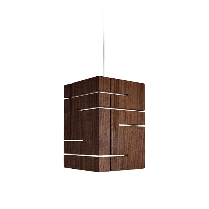 Подвесной деревянный светильник Claudo от Cerno