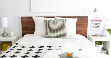 Кровать с удобной спинкой от Ikea