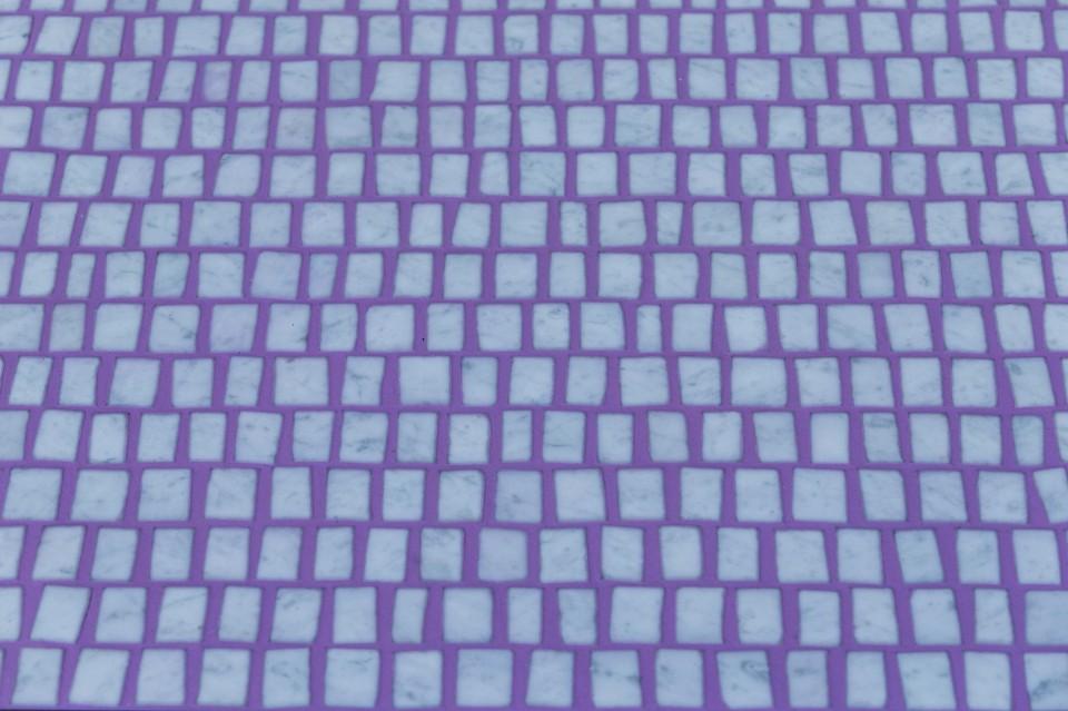 Даниэл Бортотто и Джоржиа Занеллато: рисунок орнамента для скамейки