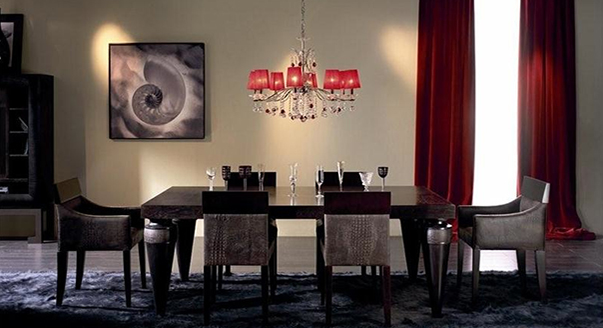 Гарнитур для столовой в стиле арт-деко