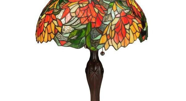Настольная лампочка в стиле тиффани