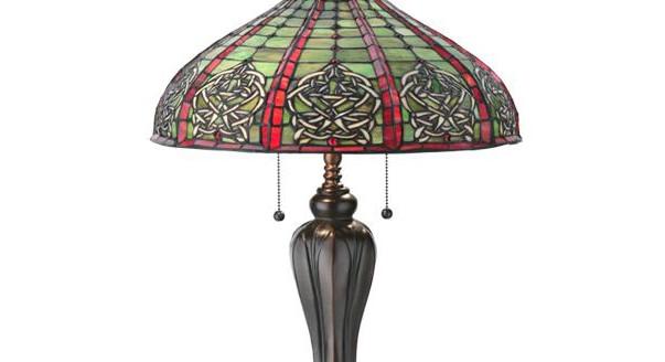 Светильник в стиле тиффани