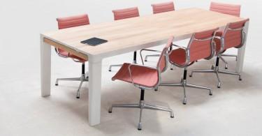 Высокий заряд дизайна в образе функционального стола Shift