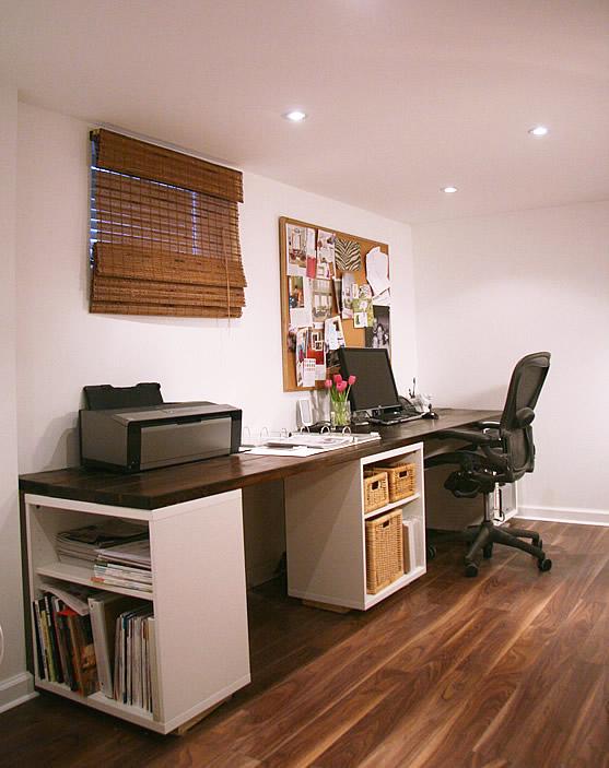 Длинный стол для работы