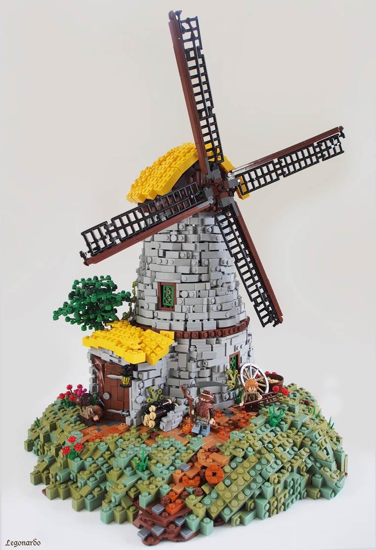 Домик Хоббита из конструктора LEGO от дизайнера Дэниэла Хенселя