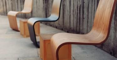 Бамбуковый стул в интерьере