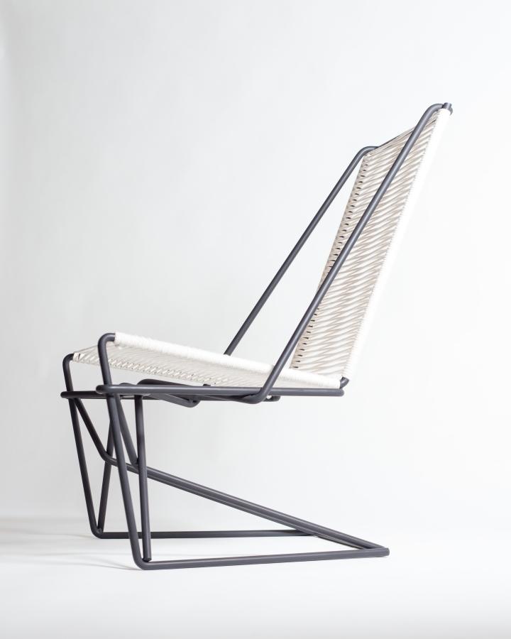 Металлический каркас кресла CR45 от Many Hands Design