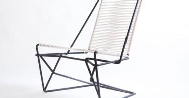 Баланс форм, фактур и оттенков в дизайне кресла CR45