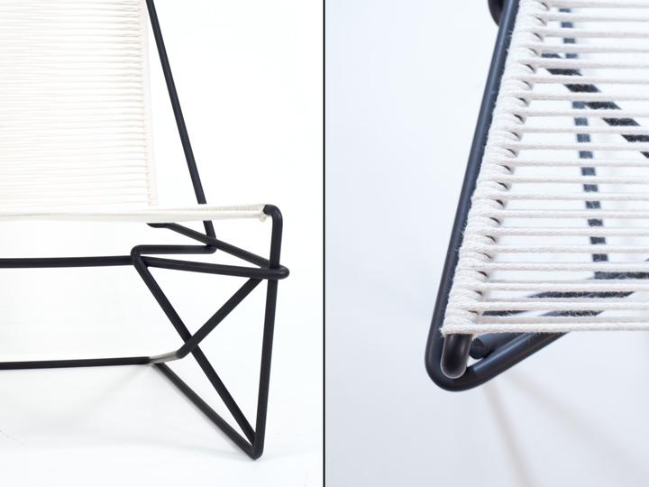 Материал сидушки кресла CR45 от Many Hands Design