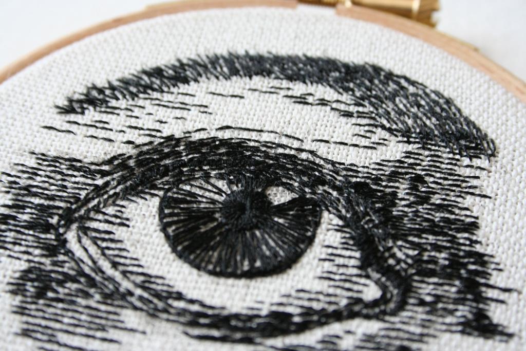 Нитки для вышивки глаза