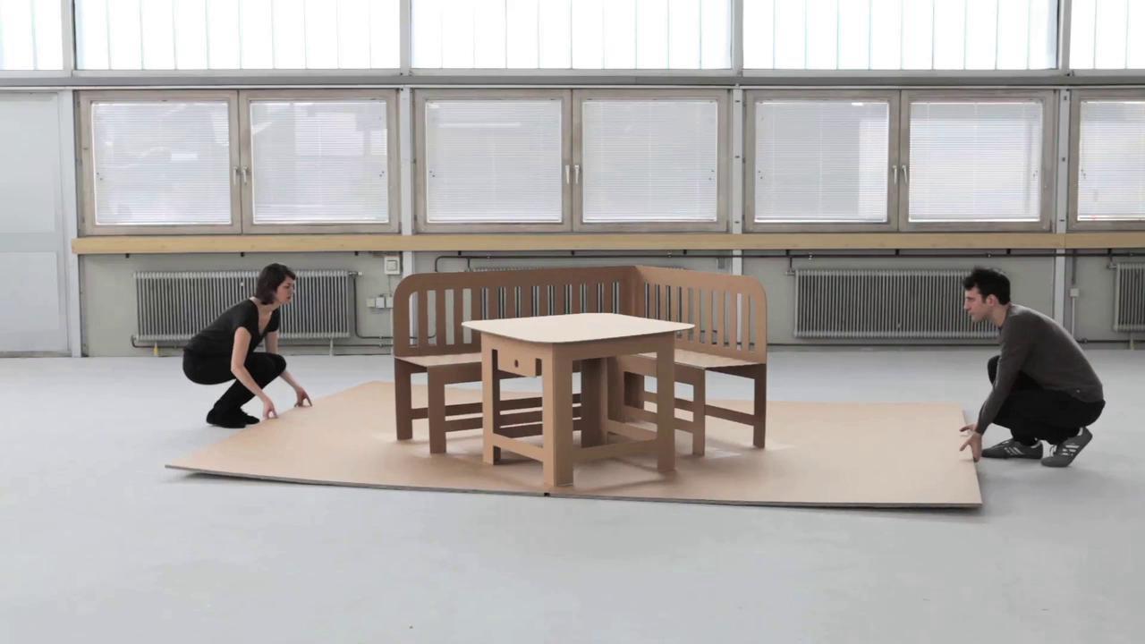 Дизайнерская раскладная мебель