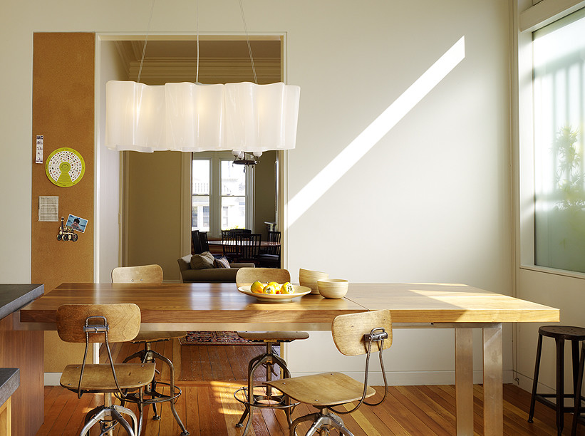 Складной стол на кухне