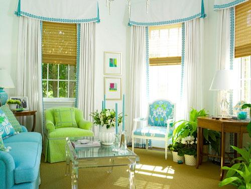 Прекрасное оформление интерьера гостиной в смешанном стиле