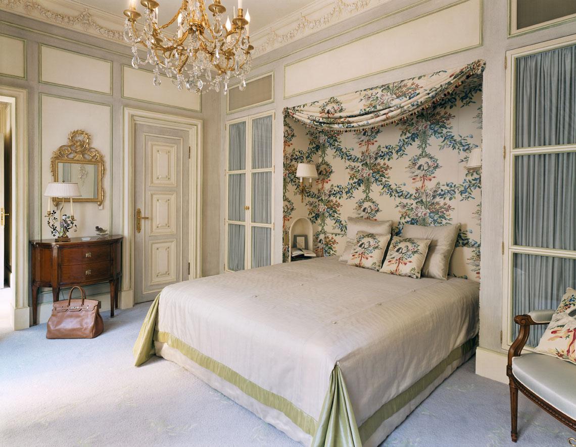 Красивое оформление помещения в французском стиле