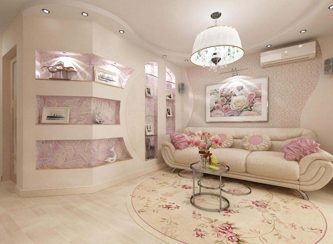 Бесподобное оформление помещения в французском стиле
