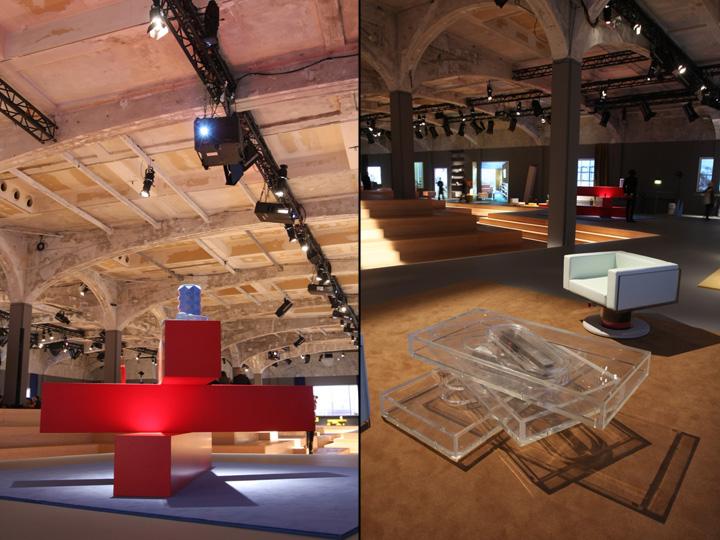 Красная и прозрачная мебель от дизайнера