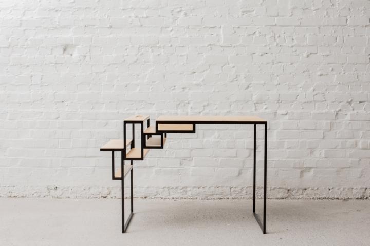 Стол в геометрической форме от Филипа Янссенса