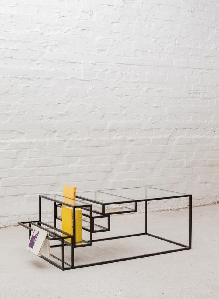Журнальный столик геометрической формы от Филипа Янссенса