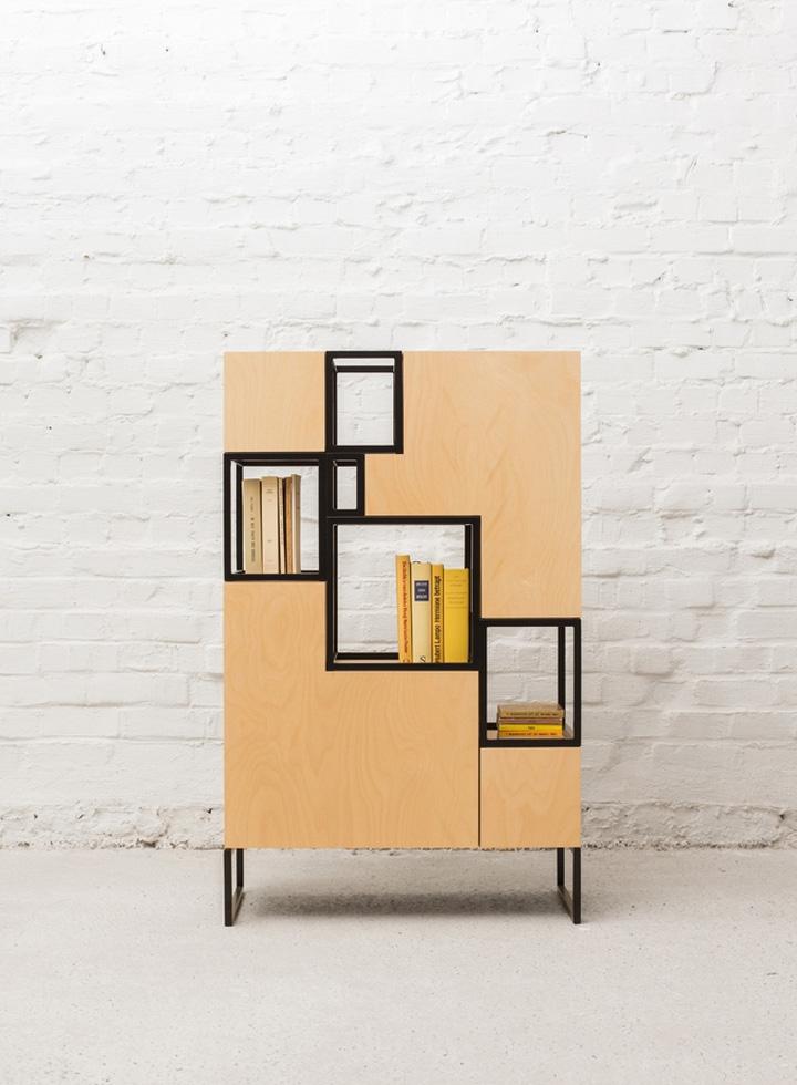 Шкаф с полками от Филипа Янссенса