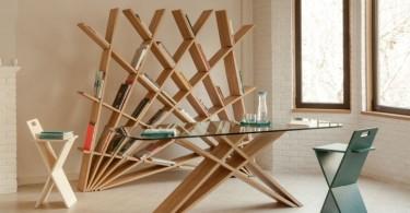 Мебельная коллекция CHEFT от Studio Pousti