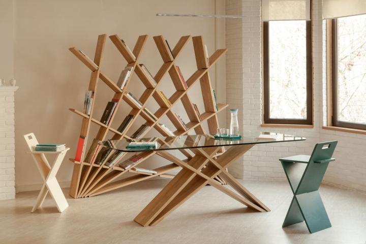 Коллекция мебели CHEFT от Studio Pousti