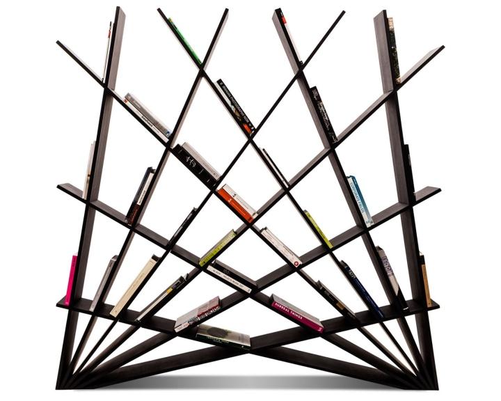 Стеллаж для книг CHEFT от Studio Pousti