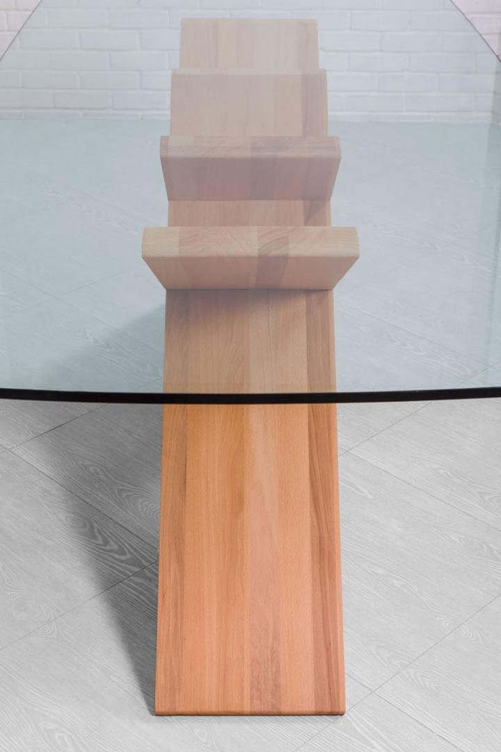 Стеклянная столешница CHEFT от Studio Pousti