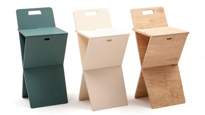 Барные стулья CHEFT от Studio Pousti