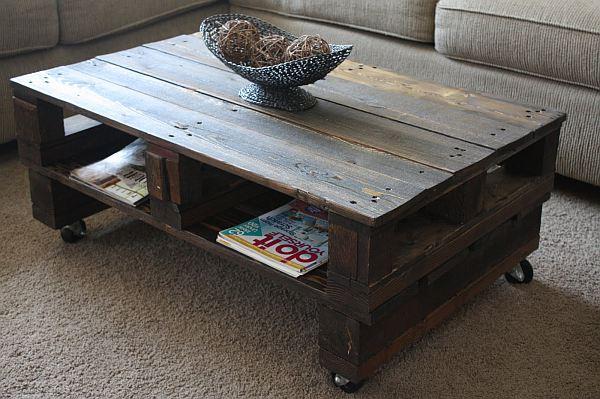 Идеи самодельной деревянной мебели