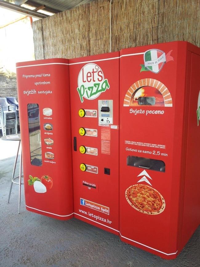 Автоматы с едой своими руками